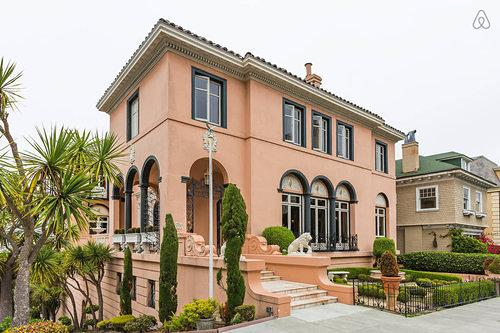 Mansions for Hire: $11.7M Alioto Mansion Re-Emerges as Airbnb Asking $7K/Night