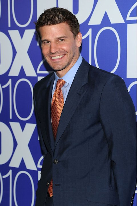 "David Boreanaz (""Bones"") attends the 2010 Fox Upfront after party at Wollman Rink, Central Park on May 17, 2010 in New York City."