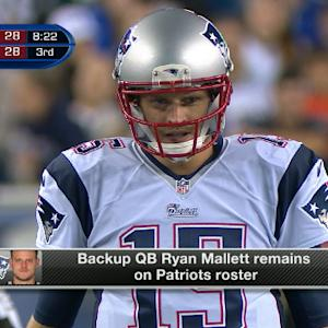 New England Patriots keep quarterback Ryan Mallett