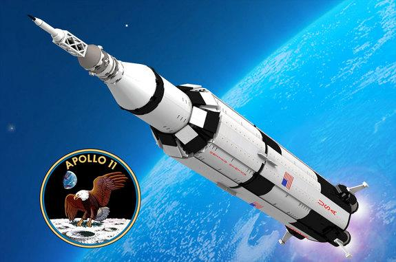 Fan-Designed Lego Saturn V Moon Rocket Qualifies for Product Review