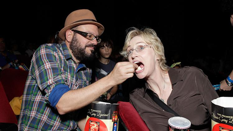 Megamind LA premiere 2010 David Cross Jane Lynch