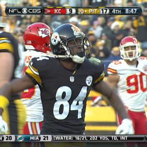 Week 16: Pittsburgh Steelers wide receiver Antonio Brown highlights