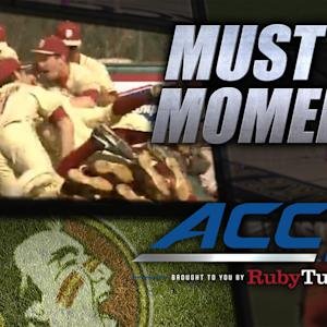 #10 Florida State Wins on Walk-Off Throwing Error | ACC Must See Moment