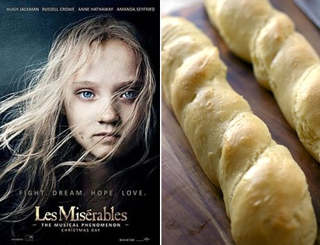Les Miserables: Crusty French Baguettes