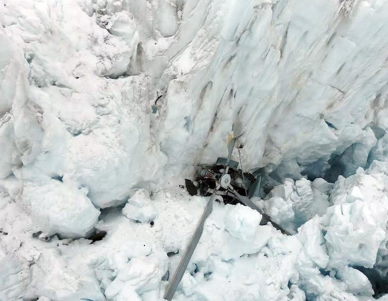 Seven dead as New Zealand helicopter crashes into glacier