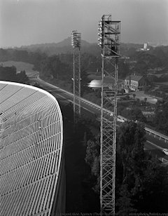 Kezar Stadium Floodlight Towers 1949, X2207