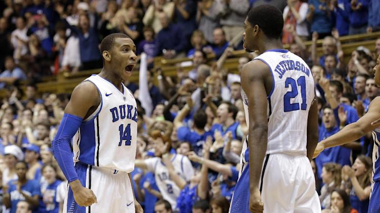 Sulaimon, No. 23 Duke beat Virginia 69-65