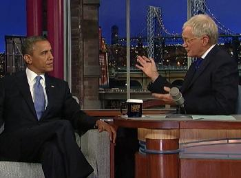 Ratings: Obama Appearance Lifts 'Late Show' to a 2-Year High