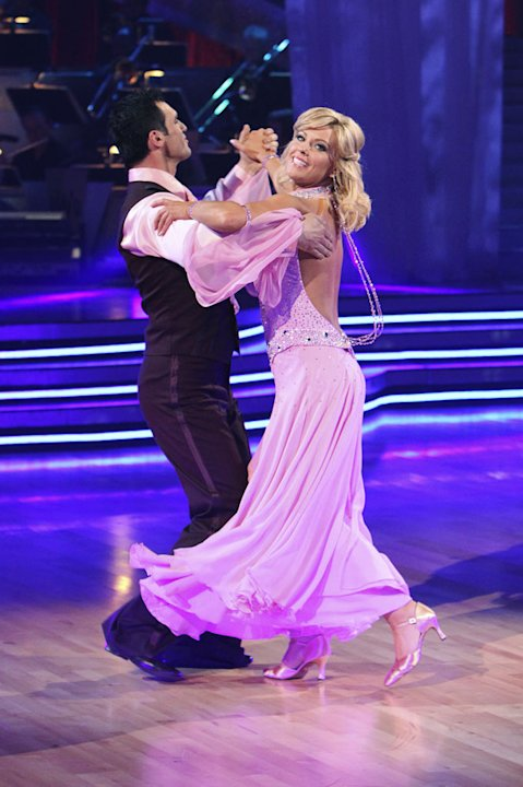 Tony Dovolani and Kate Gosselin on &quot;Dancing with the Stars.&quot; 