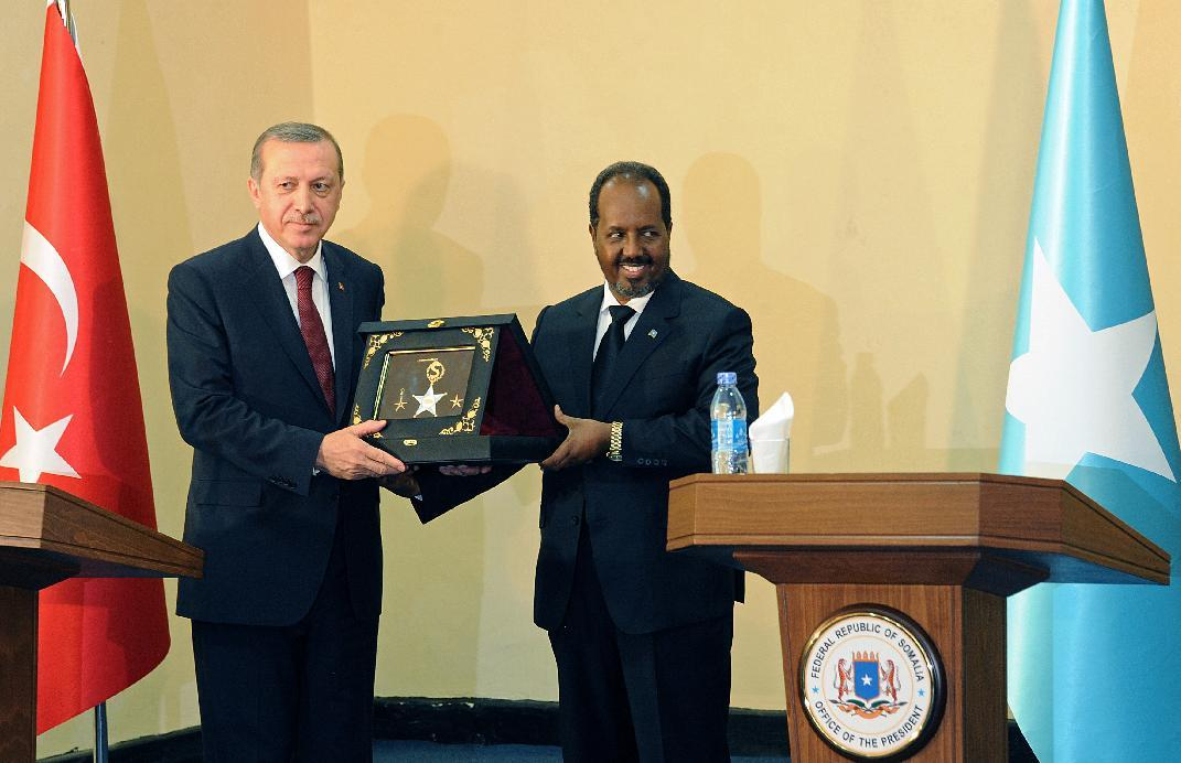 Turkish president pledges more investment for war-torn Somalia