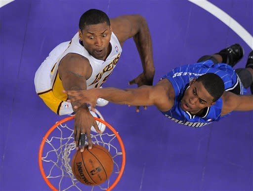 Orlando beats Dwight Howard's Lakers in reunion
