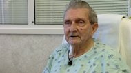 Earl Jewers, 90, says only 48 hours after getting a new heart valve, he feels good.