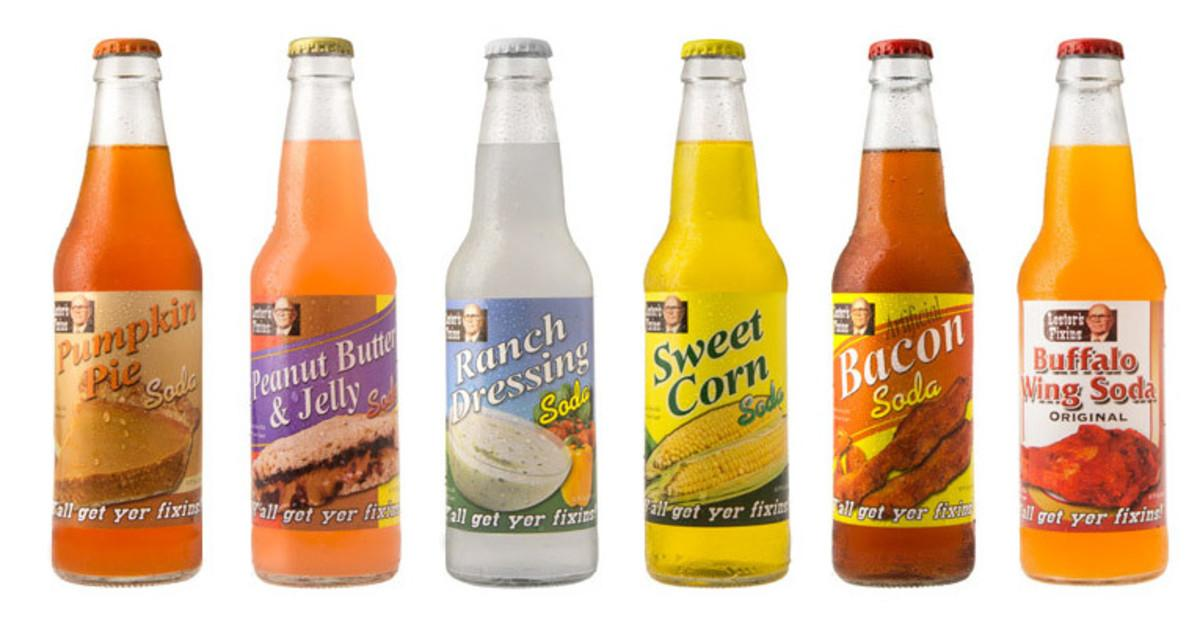 12 Disgusting Soft Drinks from Around the World