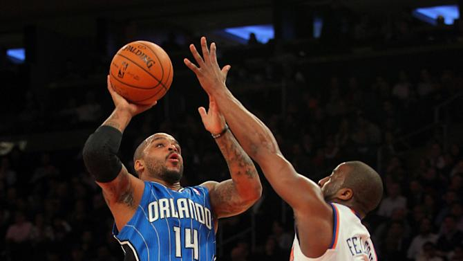 NBA: Orlando Magic at New York Knicks