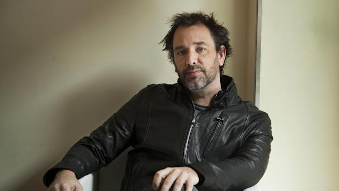 """FILE - In this March 16, 2011 file photo, """"South Park"""" co-creator, Trey Parker, poses for a portrait in New York. Trial has been delayed for a man accused of burglarizing Parker's home on the Hawaiian island of Kauai, because Parker didn't show up for a recent hearing. The judge allowed the trial to be delayed until June 3, 2013. (AP photo/Victoria Will, file)"""