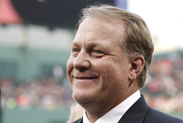 Curt Schilling announced Wednesday that his cancer is in remission. (AP)