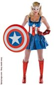 Women Captain America Costumes