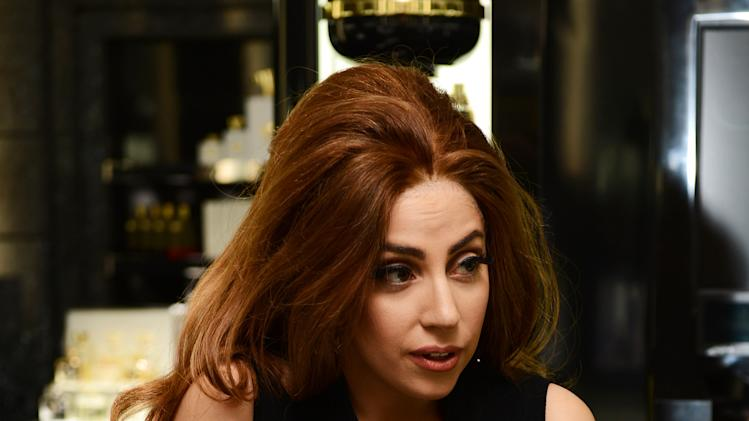 Lady Gaga Launches Debut Fragrance, Fame At Harrods, London