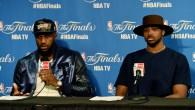 LeBron James posts photo with Tristan Thompson, sends message to Cavs