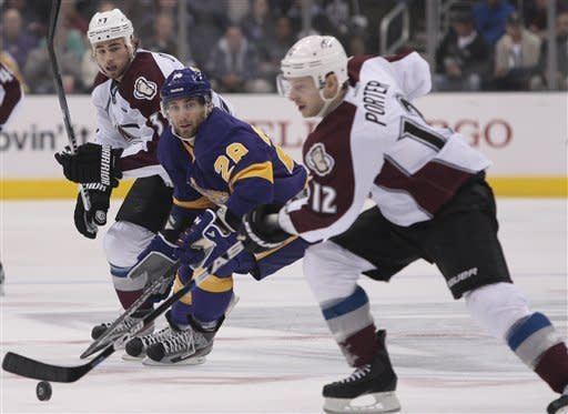 Avalanche beat Kings 2-1, now 7-0 in shootouts