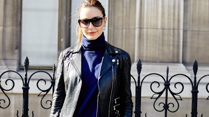 One of our favorite editors, Ece Sukan brings Turkish fashion to Paris with a super-cool, downplayed look.