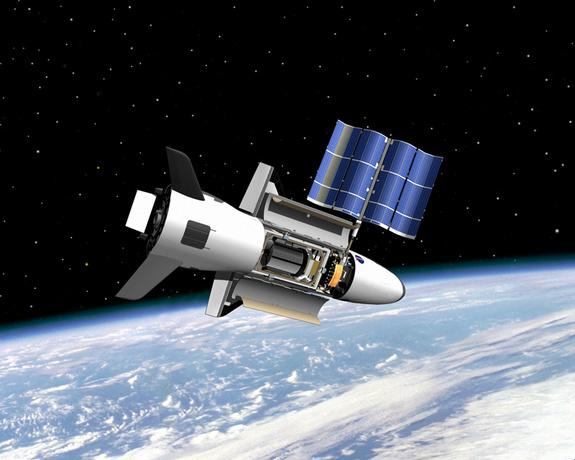 Mysterious X-37B Military Space Plane to Fly Again Next Month
