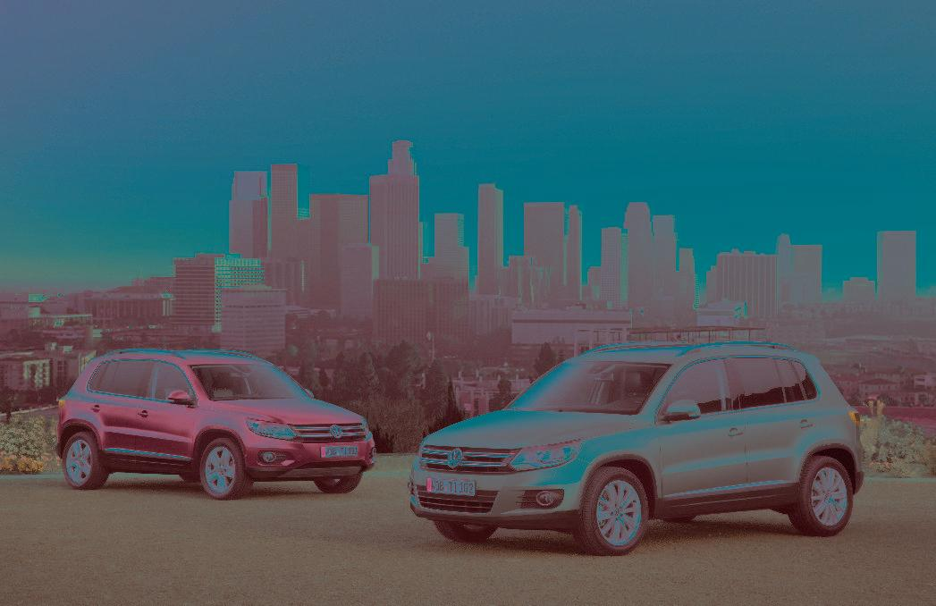 Volkswagen to present the new Tiguan and CC vehicles at the Frankfurt International Motor Show