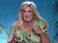 TOWIE Star Gemma Collins Attempts To Look Chic By The Poolside With A Packet Of Crisps