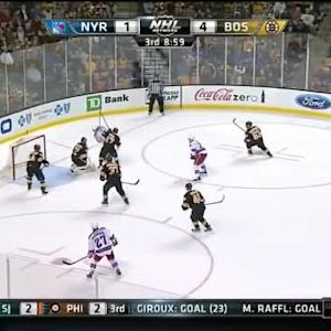 Niklas Svedberg Save on Dan Girardi (11:05/3rd)