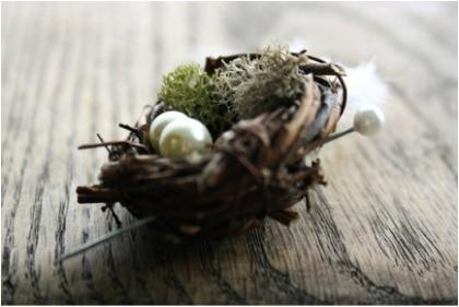 Love Nest Boutonniere