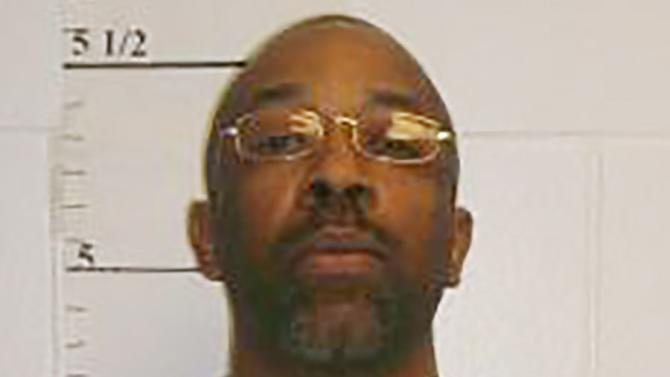Missouri death row inmate Roderick Nunley is seen in a picture released by the Missouri Department of Corrections