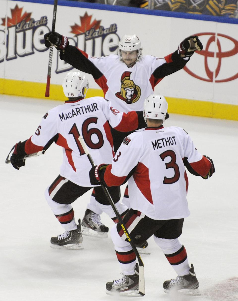 Karlsson lifts Senators to 1-0 win over Sabres