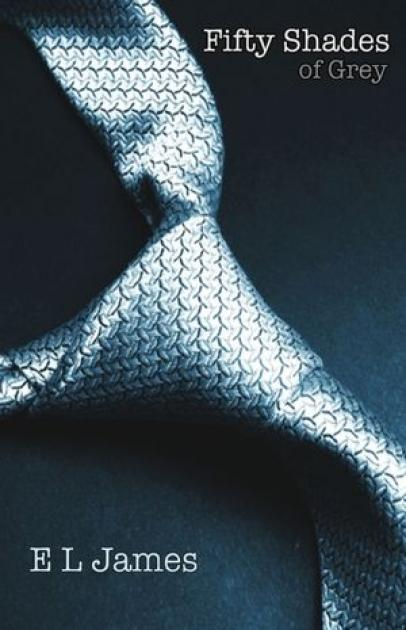 The cover of 'Fifty Shades of Grey' -- Vintage Books