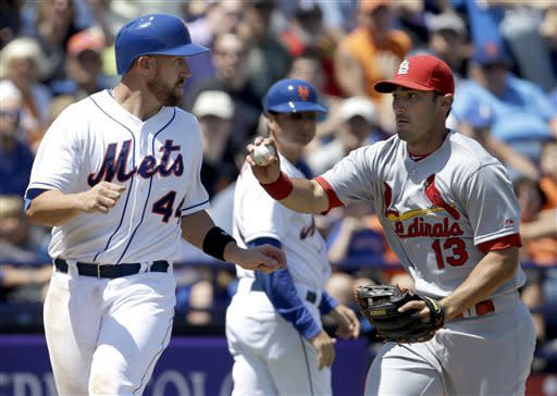 Mets' Wright makes first appearance in 2 weeks