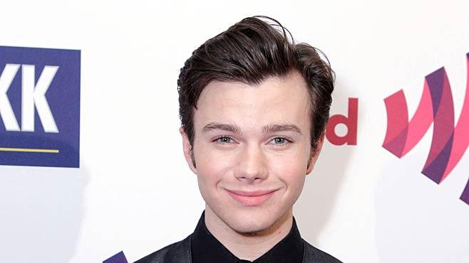 Chris Colfer GLAAD Aw