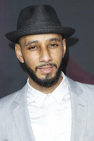 """FILE - In this Nov. 17, 2012 file photo, recording artist Swizz Beatz arrives at the TeenNick HALO Awards at the Hollywood Palladium in Los Angeles. On Nov. 27, 2012, Alicia Keys releases her fifth album, """"Girl on Fire."""" It features Frank Ocean, Bruno Mars, Babyface, Emeli Sande, Maxwell, Nicki Minaj, John Legend, her husband Swizz Beatz and their son Egypt. (Photo by Joe Kohen/Invision/AP, File)"""
