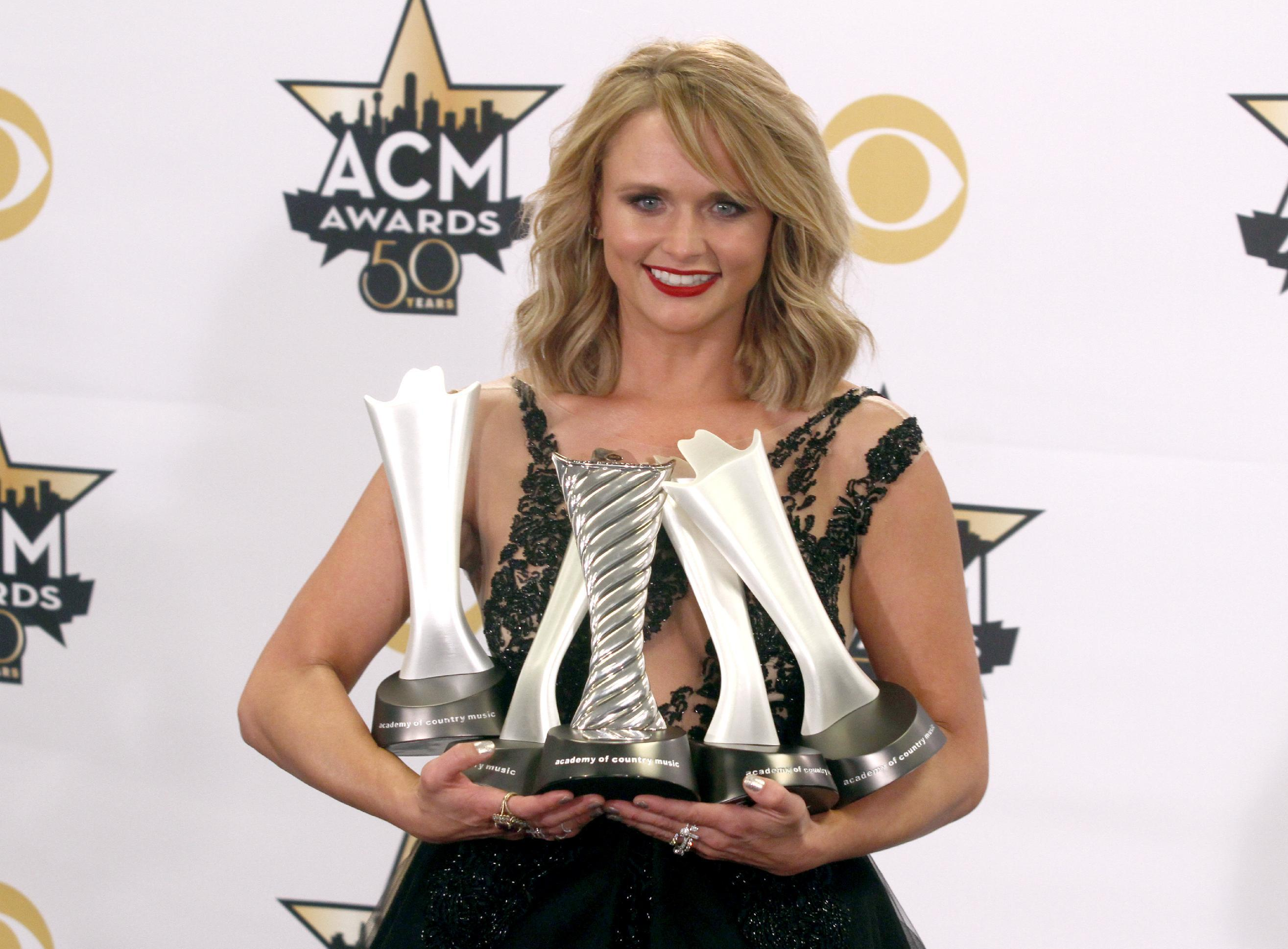 ACM Awards: Miranda Lambert, Luke Bryan, Taylor Swift shine