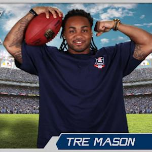 Virtual Rookie Card: Tre Mason