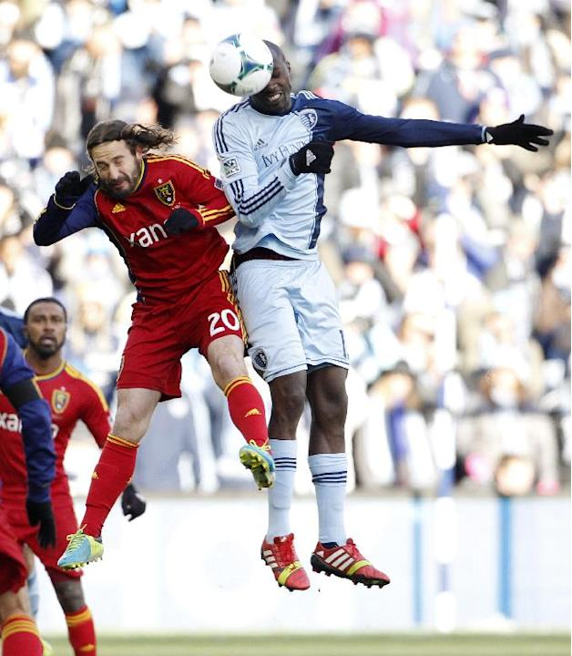 Sporting KC tops Real Salt Lake for MLS Cup
