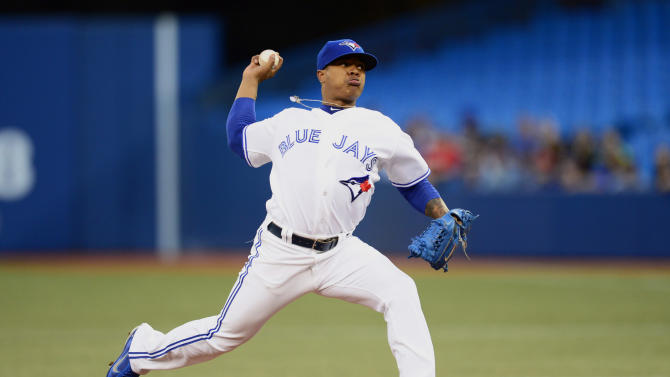 Stroman's 3-hitter leads Blue Jays over Cubs 8-0