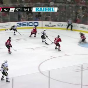 Cory Schneider Save on Chris Kunitz (00:15/OT)