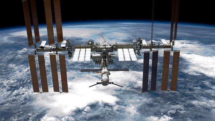 International Space Station Cooling System in Partial Shutdown