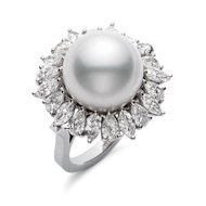 mikimoto pearl ring