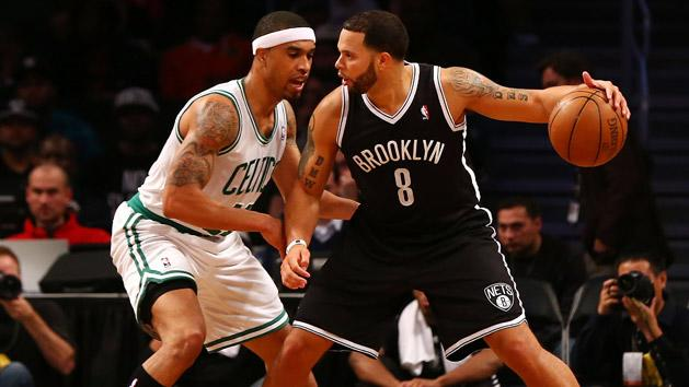 Courtney Lee and Deron Williams