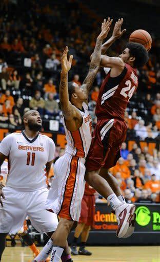 Stanford beats Oregon State 82-72