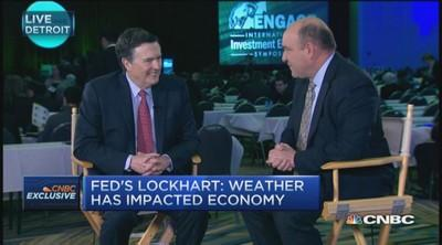 Fed's Lockhart: Need rate hike midyear or later