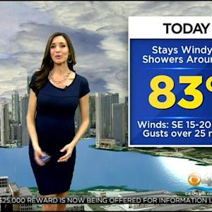 CBSMiami Weather @ Your Desk - 11/26/13 6:00 a.m.