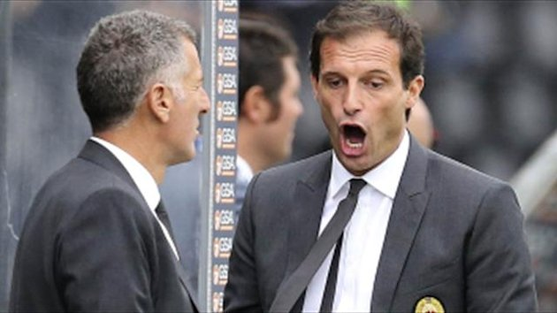 Berlusconi snubs Allegri again