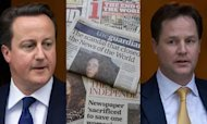 Leveson: Cameron Faces Political Fallout