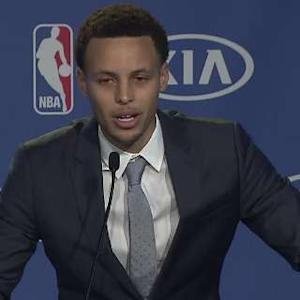 Curry's Opening Remarks After Receiving the Kia MVP Award